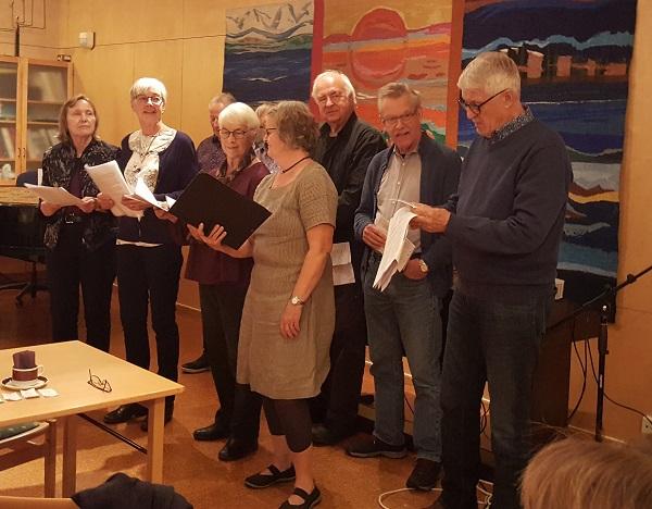 SPF Seniorerna Kiladalen har haft månadsmöte i Tuna församlingshem