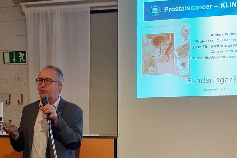 Prostatacancer – nya behandlingar och diagnostik
