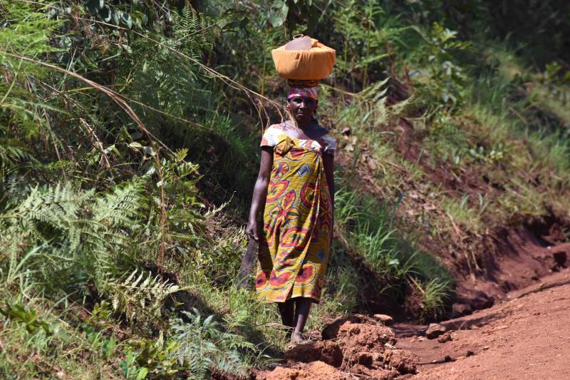 En av Afrikas sämsta vägar