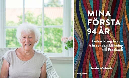Herdis Molinder, Mima första 94 år, bok
