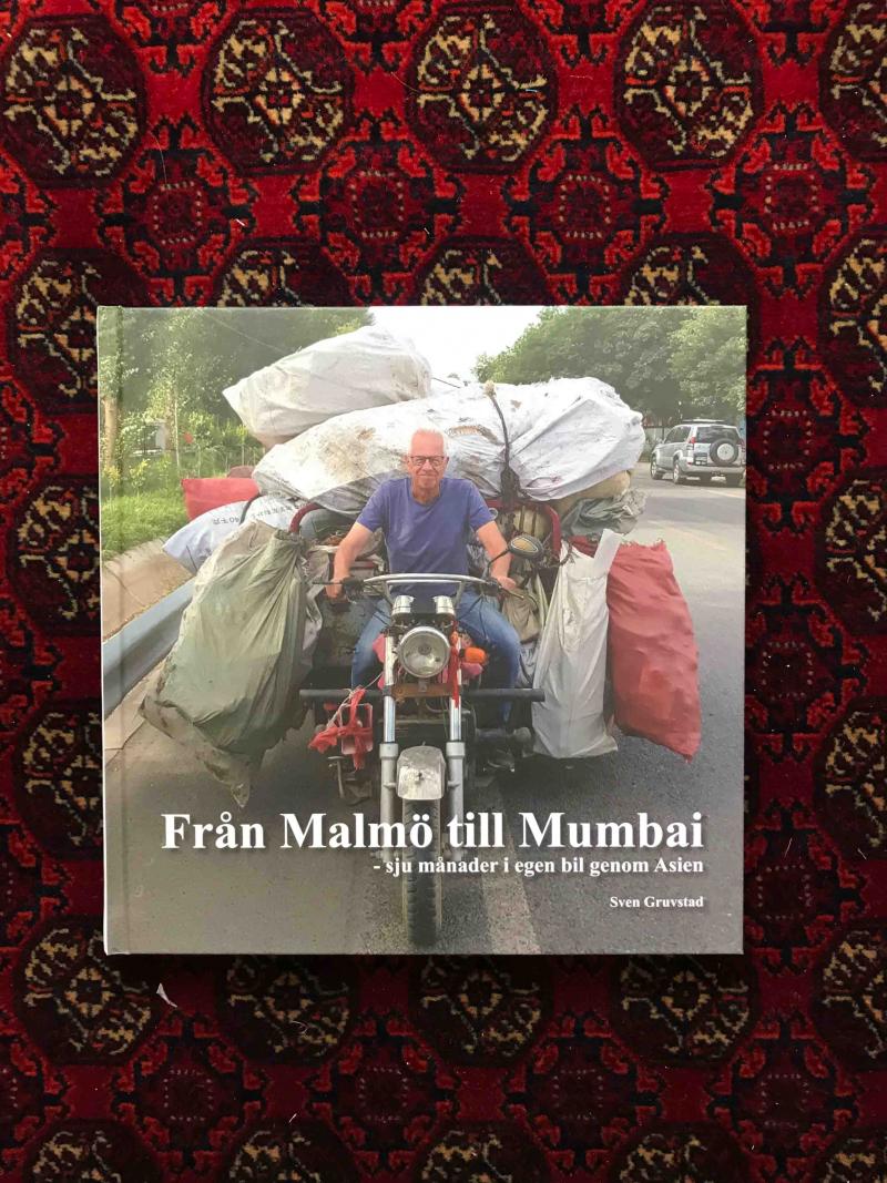 """""""Från Malmö till Mumbai"""", min nya bok"""