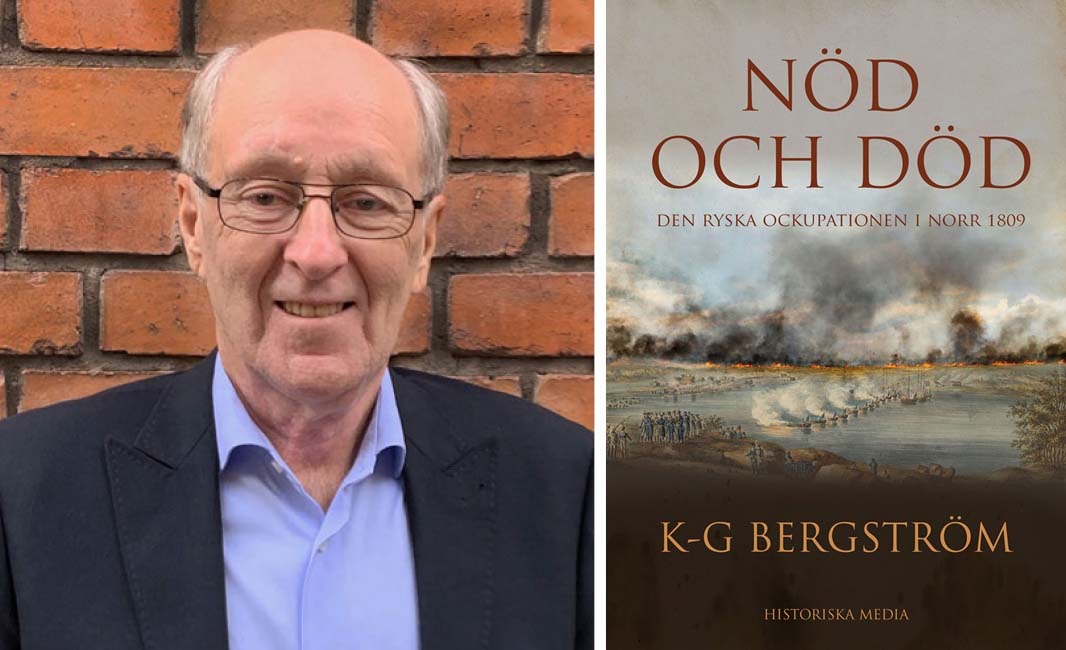 KG Bergström, Nöd och död, bok