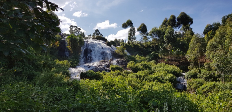 Mount Elgon och Sipi-vattenfallen