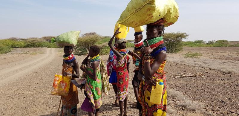 Via treriksröset tar vi oss över gränsen in i Etiopien