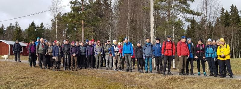 Vandring från Sågsbo till Andersbotjärn för SPF Seniorerna Falun