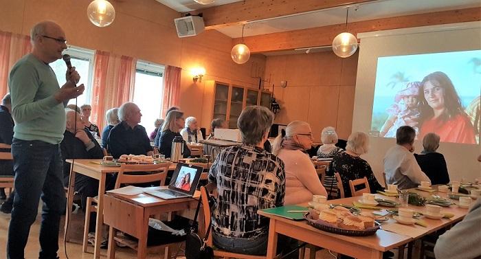 Månadsmöte i Tuna församlingshem den 9 mars 2020.