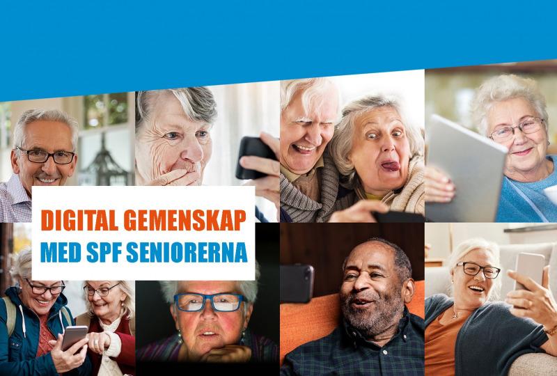 Digital gemenskap med SPF Seniorerna