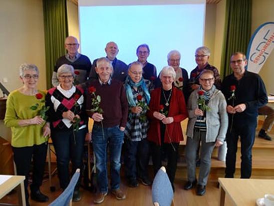 Årsmöte med parentation för SPF Seniorerna i Kvänum