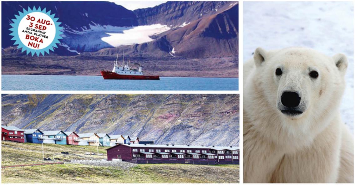 NYA DATUM! Svalbard – Spetsbergen de luxe