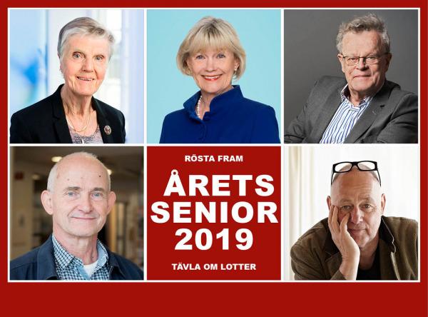 Rösta på Årets Senior