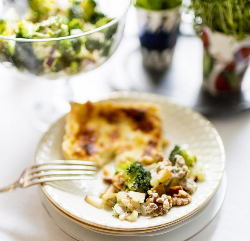 Ostpaj med gorgonzola
