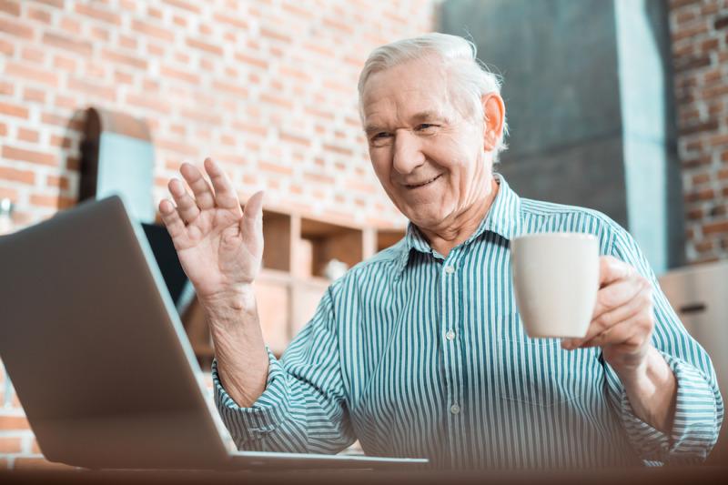 Minska isoleringen på äldreboenden med digitalisering