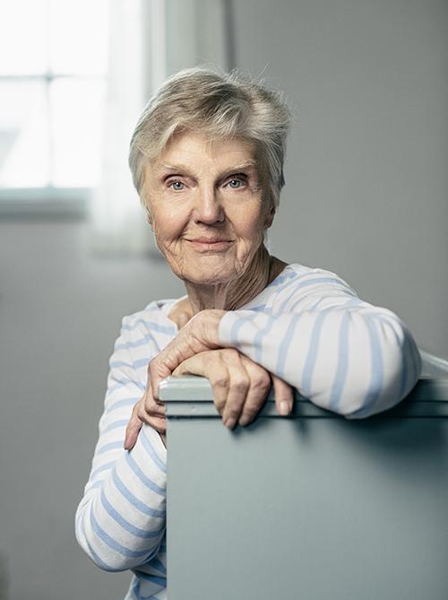 Barbro Westerholm: Det blev en stämpel att 70-plussare inte behövdes