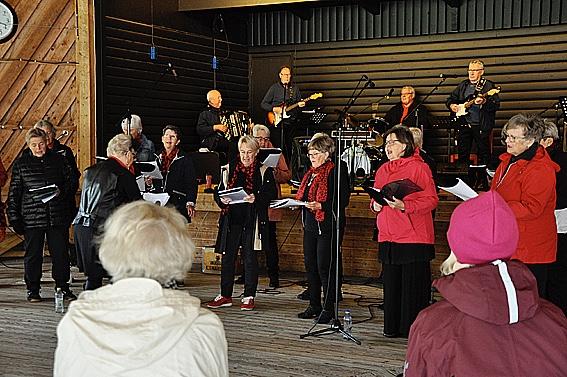 Rock på Lilltorpet för SPF Seniorerna Falun