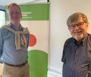 Första digitala månadsmötet för SPF Lund Öster