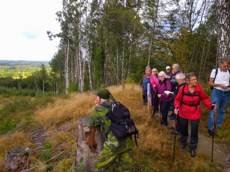 SPF Seniorerna Aktiv Arboga på Vallevandring 7–10 september