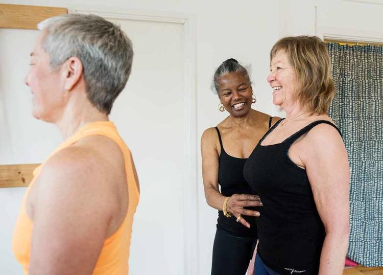 Fri från inkontinens med yoga