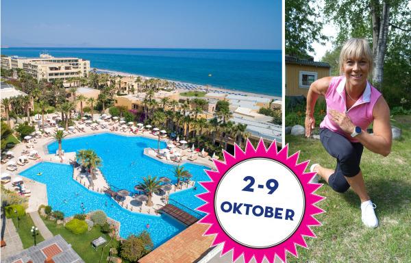 Träningsresa med Sofia på Kreta