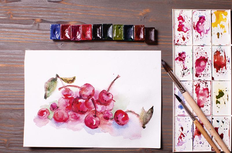 Kom igång med akvarell