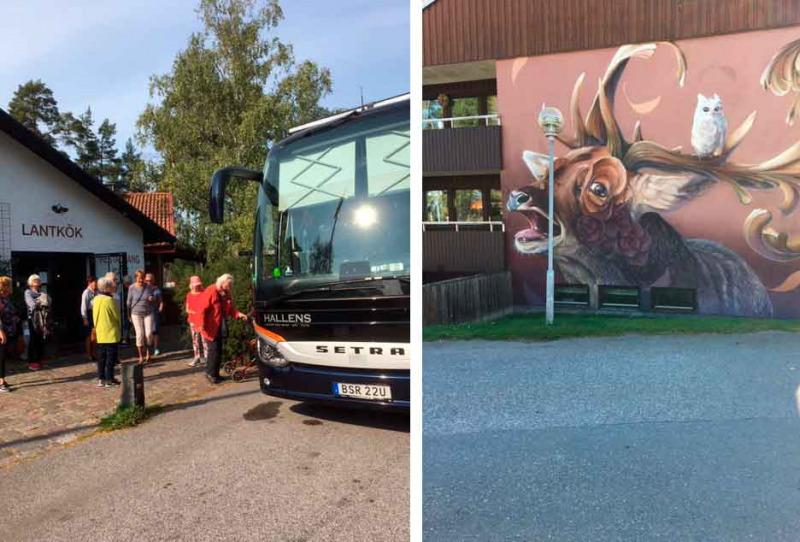 Uppskattade Corona anpassade bussutflykter och andra aktiviteter