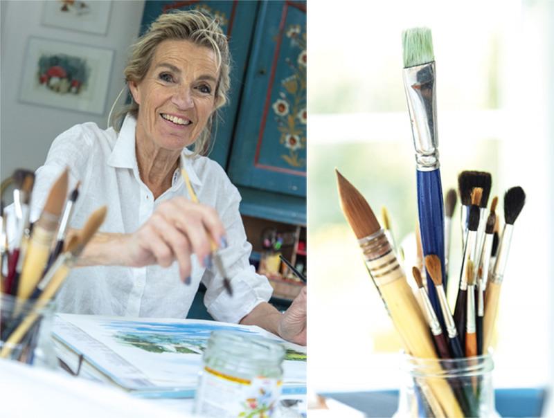 """""""Att måla är magiskt"""""""