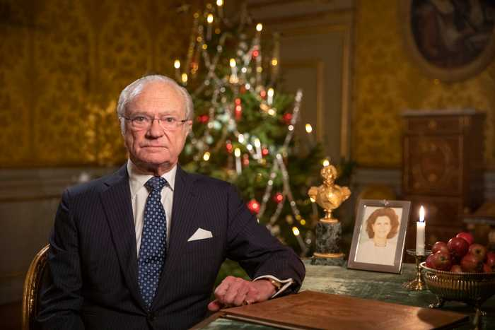 Kungen i årliga jultalet: Håll i och håll ut