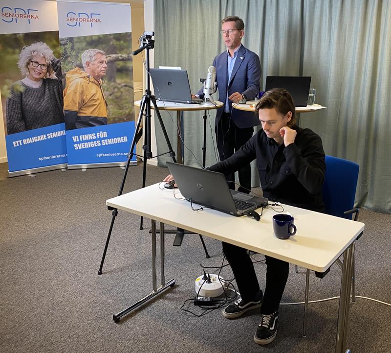 500 personer i digital utbildning hos SPF Seniorerna