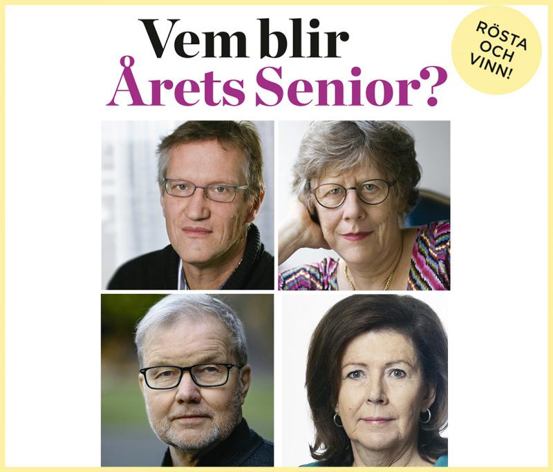 Vem av dessa vill du ska bli Årets Senior?