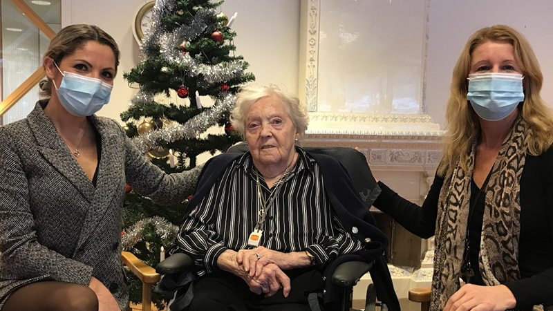 Gun-Britt, 91: Jag mår jättebra