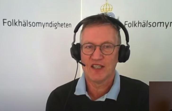 Anders Tegnell: Inget Astra Zeneca-vaccin till personer över 65 år