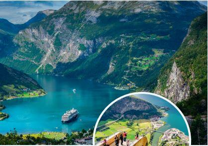 Norska fjäll och fjordar