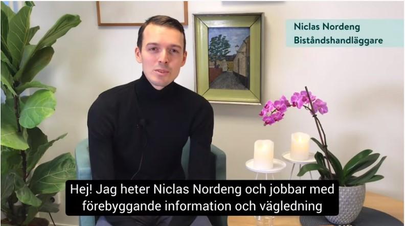 Video och Zoom ersatte månadsmöte IRL i Lund