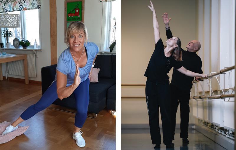 Gympa med Sofia … och dansa med Åsa!
