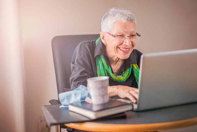 SeniorNet prisas för sitt arbete