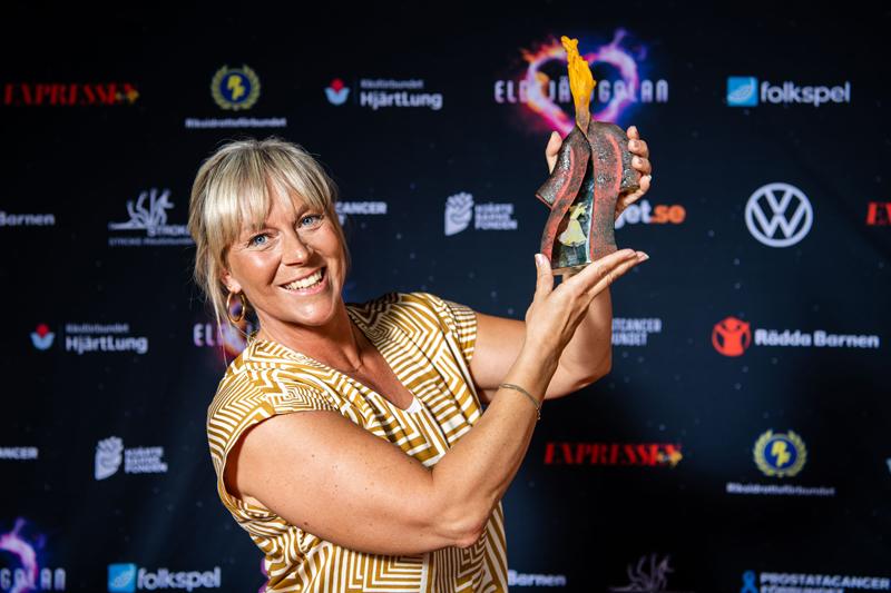 Sofia Åhman är Årets Eldsjäl