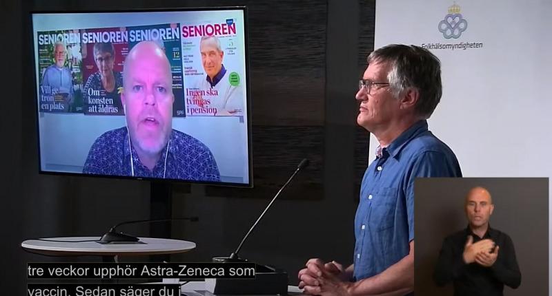 Anders Tegnell: Det är inte Richard Bergström som styr