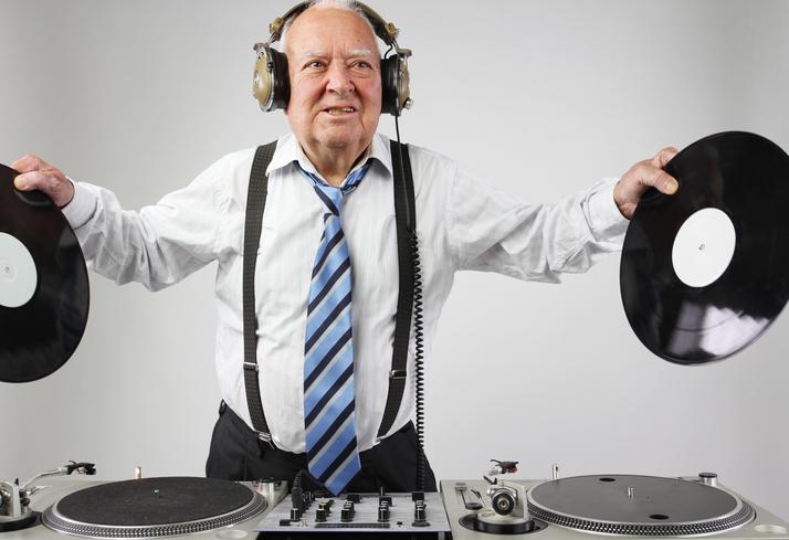 Musik plåster på själen hos äldre män
