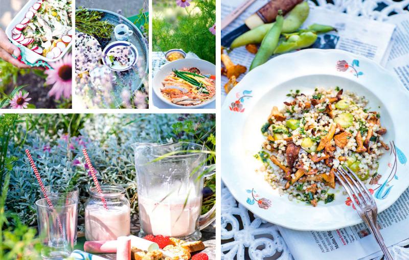 Sommarmat för två