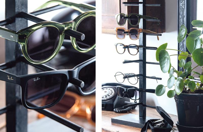 Bygg ett glasögonställ