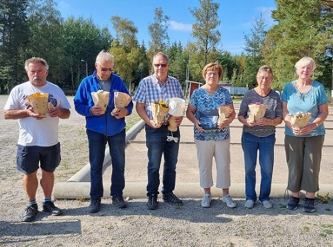 Klubbmästerskap i boule år 2021, på IK Tun, Enstaberga.