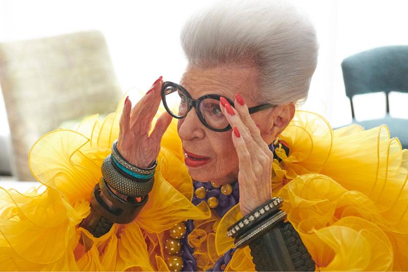 H&M och Iris Apfel släpper kollektion