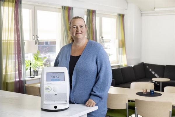 Läkemedelsrobotar medspelare i vården